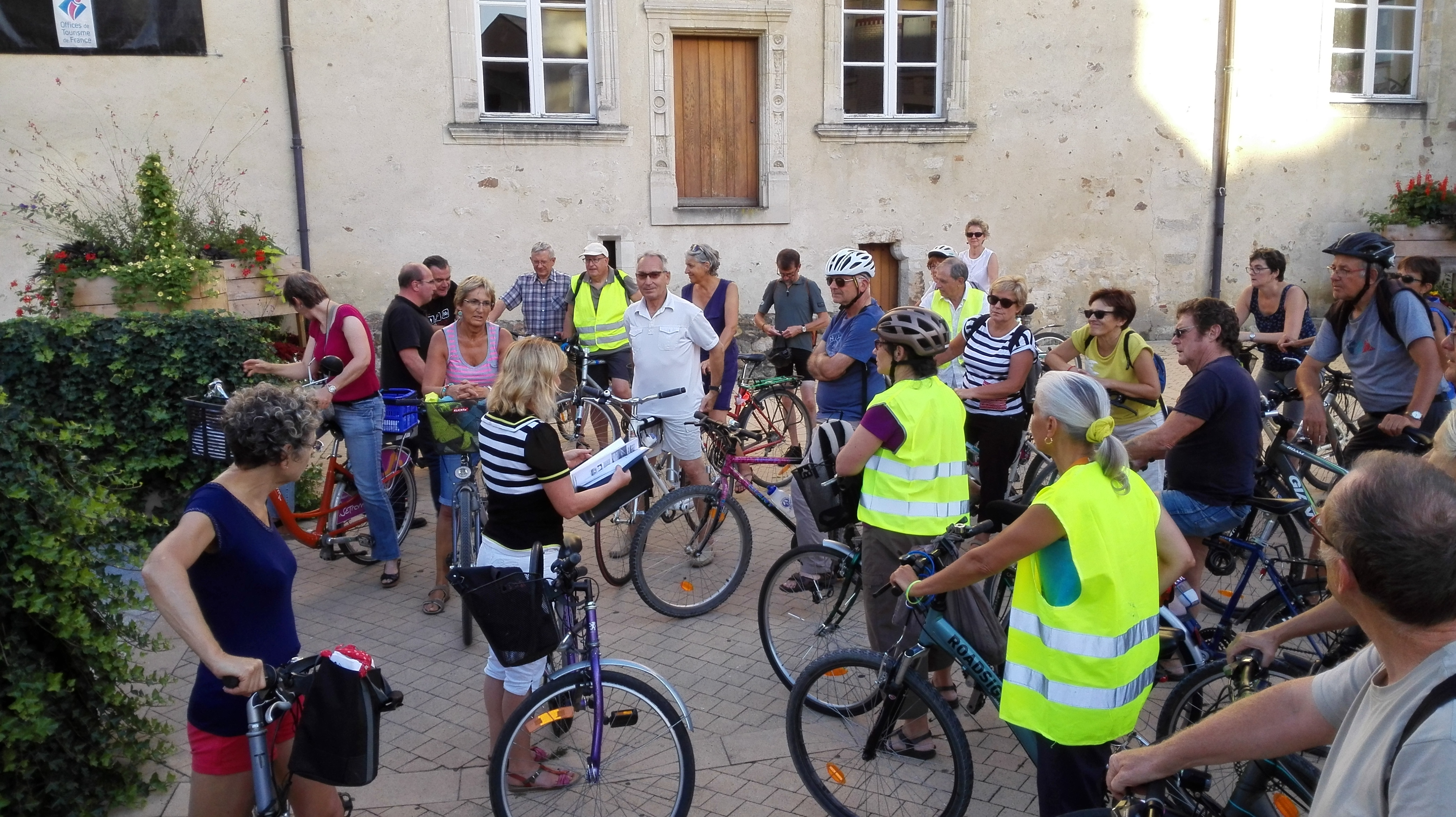 Le visites guidées à vélo reviennent !