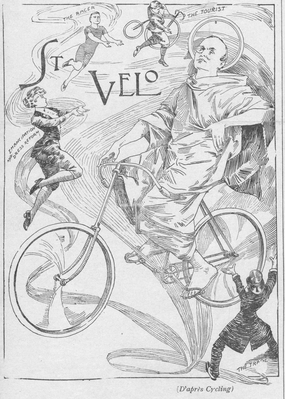 Gloire  à saint Vélo !