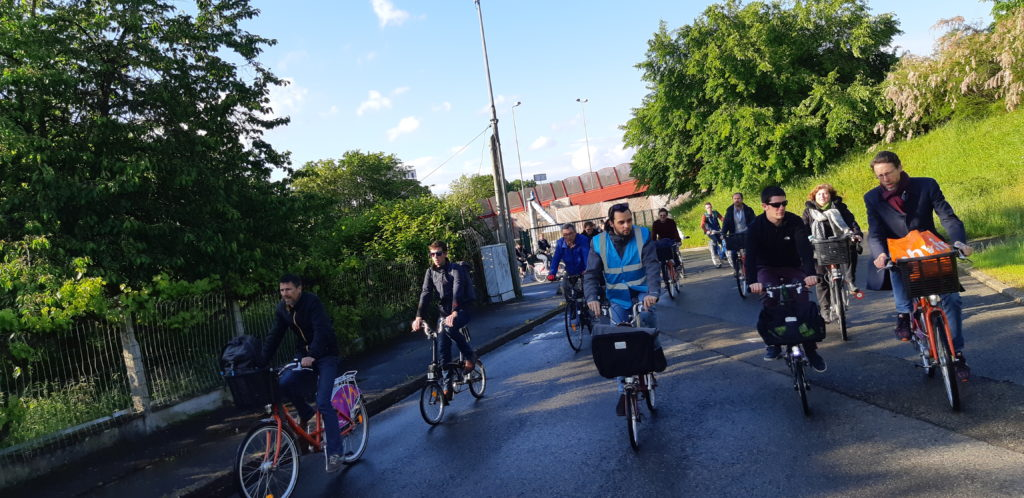 Des visites étaient proposées : à vélo puis à pieds à la découverte de la cité Plantagenêt, à vélo sur le Boulevard nature.