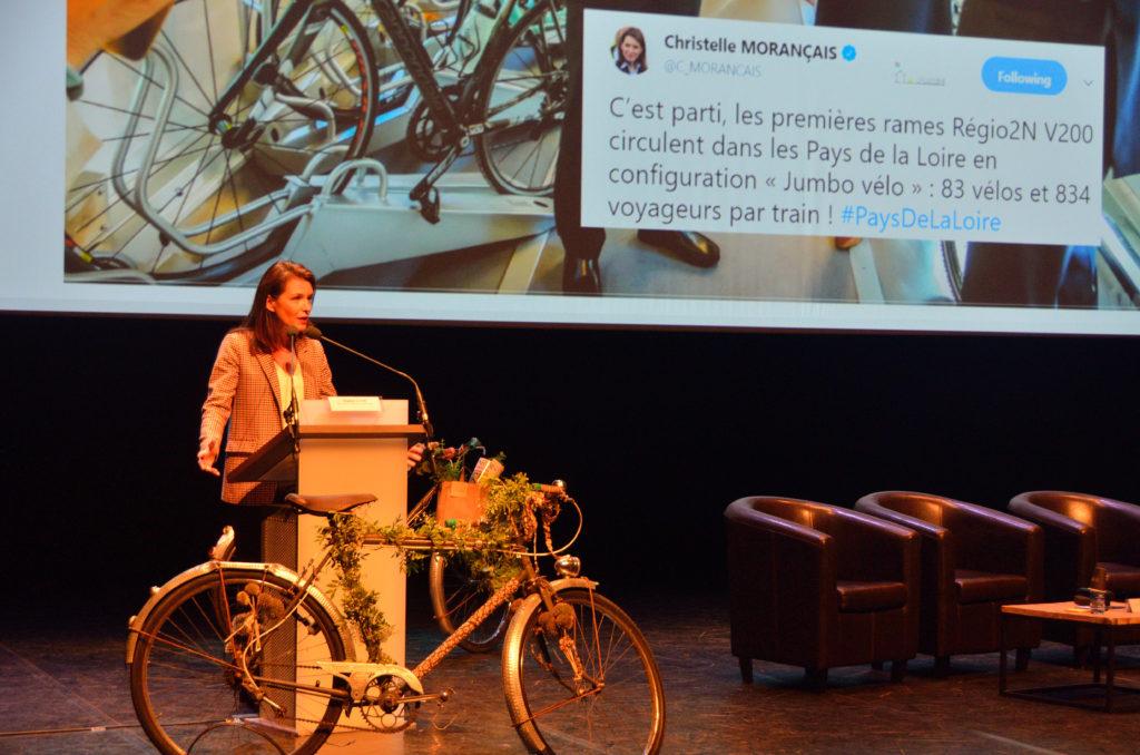 Intervention de Christelle Morançais, présidente de la région Pays-de-la-Loire