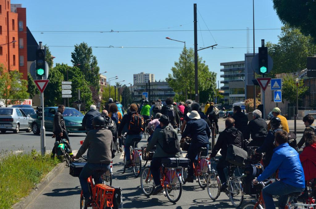 Le week-end s'est conclu avec un trajet qui a rassemblé 120 cyclistes et un pique-nique à l'Arche de la nature