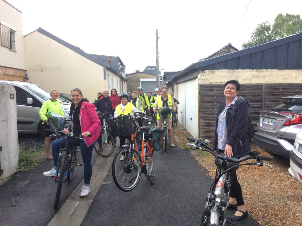 Visite guidée à vélo 2019