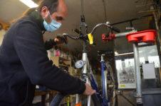 Atelier de réparation vélo
