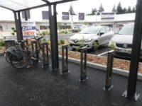 Des arceaux vélo couverts