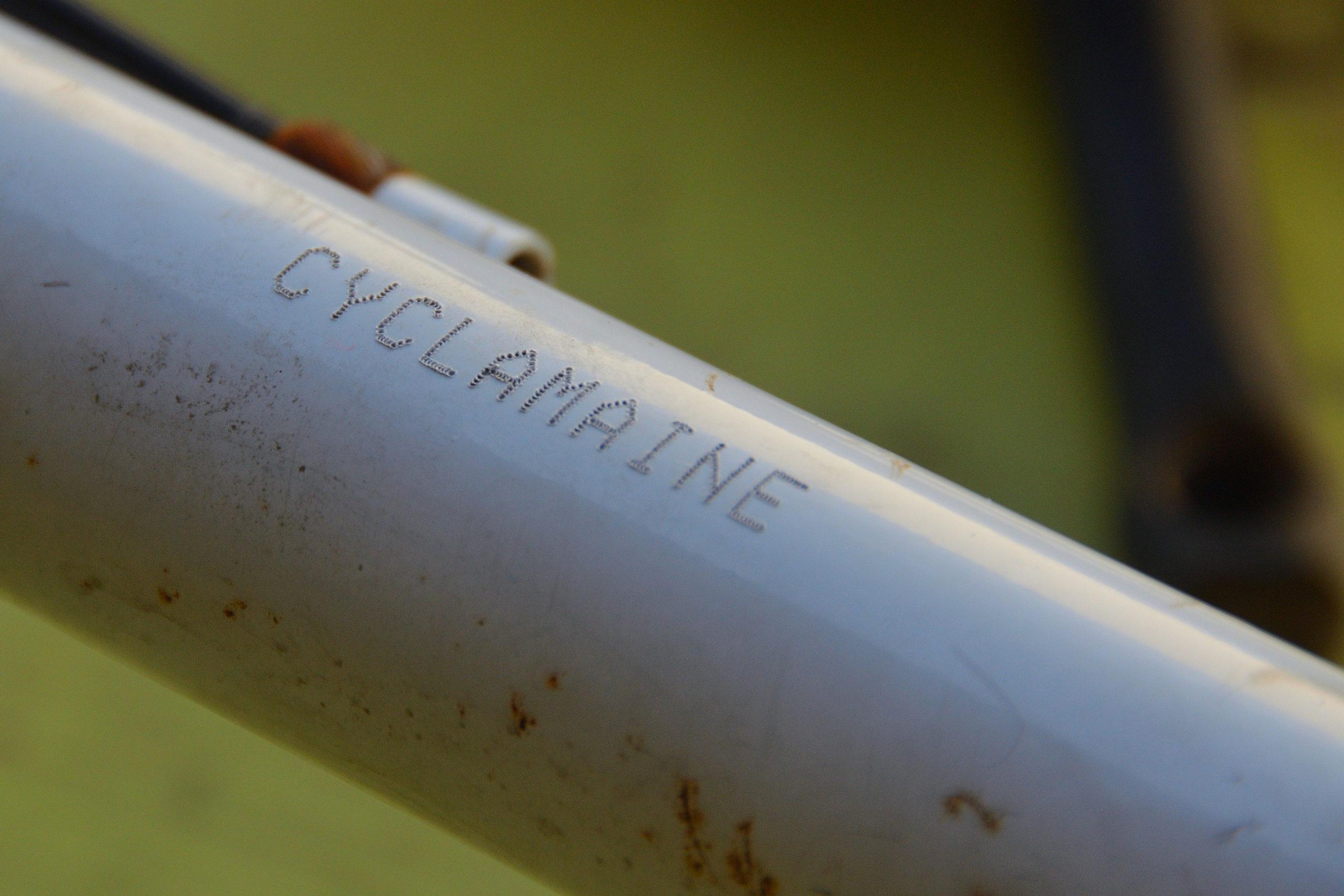 Marquage Bicycode à l'atelier Cyclamaine